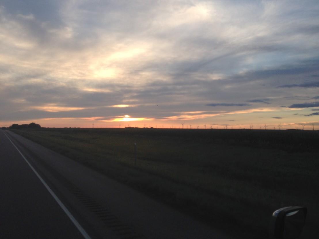 SunsetRockRapids2
